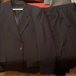 Jos. A Bank full suit 44L 36 waist charcoal gray